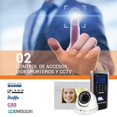 Control de Accesos, Videoporteros y CCTV